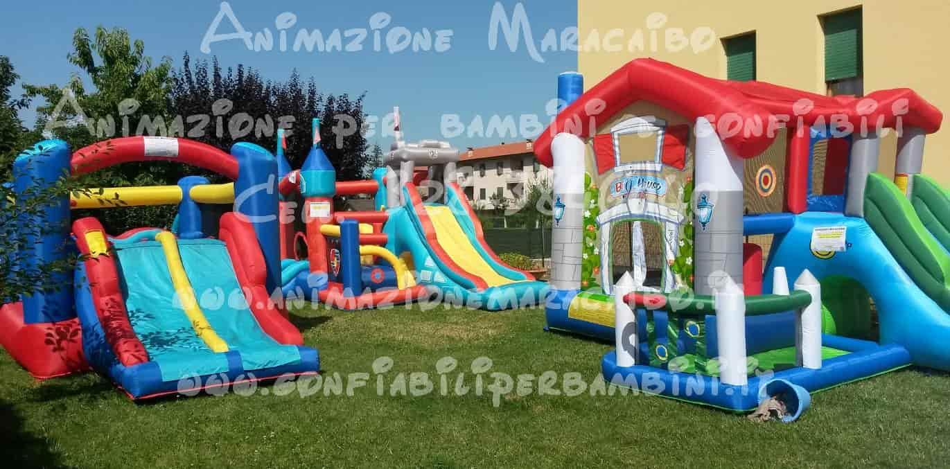 Affitto Gonfiabili bambini noleggio Ancona Macerata affitto giochi scivoli gonfiabili Fermo Perugia Foligno Pesaro Ascoli