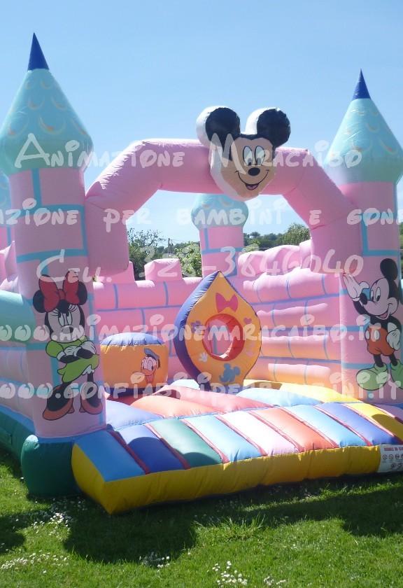 Gonfiabile professionale a noleggio giochi gonfiabili per bambini affitto Ancona Macerata Marche Umbria
