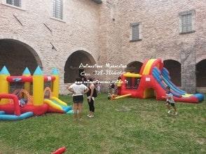 Ancona gonfiabili a noleggio e in affitto giochi per bambini per feste